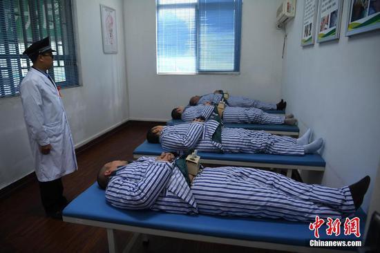 重庆艾滋病戒毒学员通过中医治疗增强体质