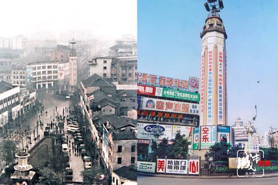 四十年 重庆人的解放碑纪事
