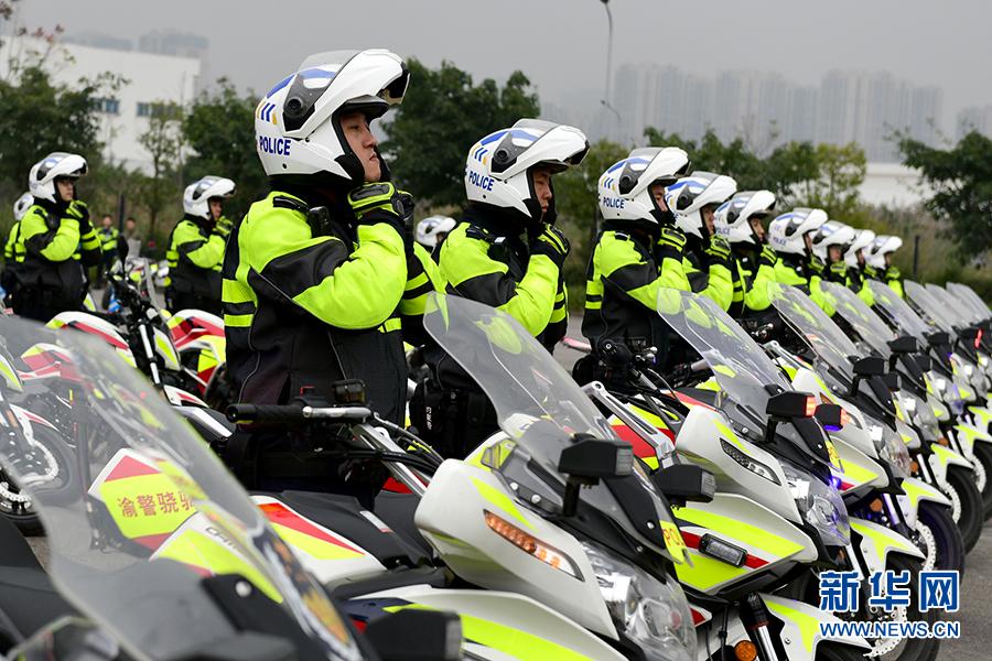 """践行""""民生警务"""" 重庆""""两江骁骑""""守护城市安全"""