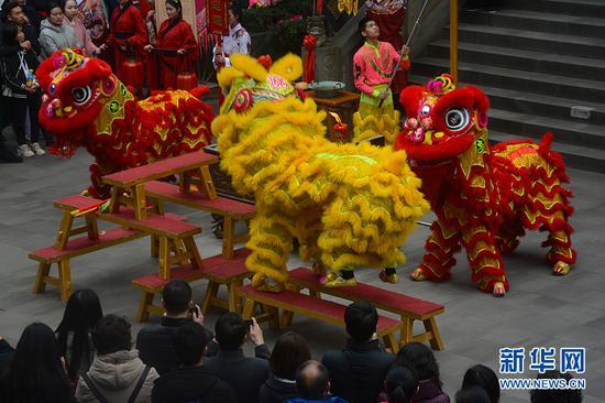 湖广会馆举行禹王祭祀祈福仪式 再现300年前周礼