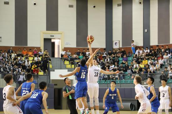 2019重庆国际(中美)青少年篮球友谊赛在璧山举行