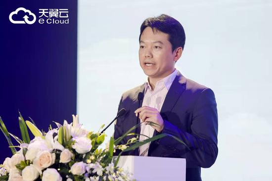 (中国电信云计算分公司副总经理李云庄)