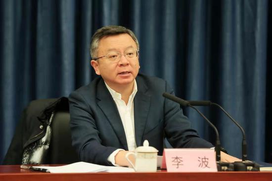 重庆市政府副市长,市关工委名誉主任李波讲话
