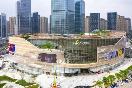 重庆光环购物公园全景