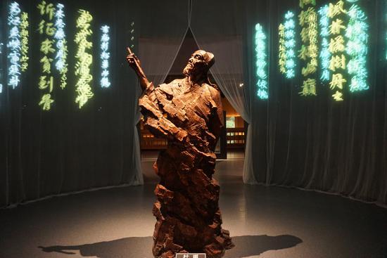 图为夔州博物馆部分展览
