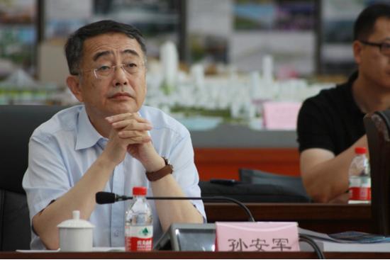 中国城市规划学会理事长、原建设部城乡规划司司长 孙安军
