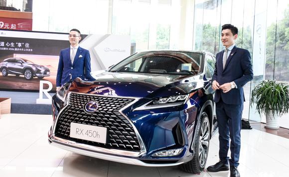 雷克萨斯新RX及全新RX 450hL重庆中升上市