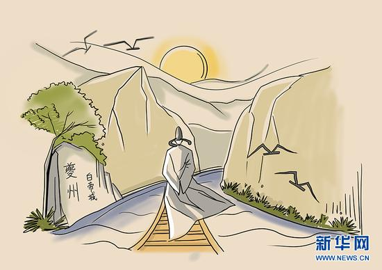 假如李白重新回到白帝城 会看到哪些变化呢?