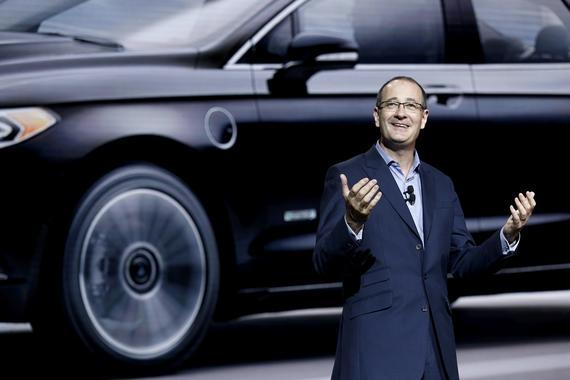 福特汽车公司集团副总裁兼亚太区总裁傅礼德(Peter Fleet)先生