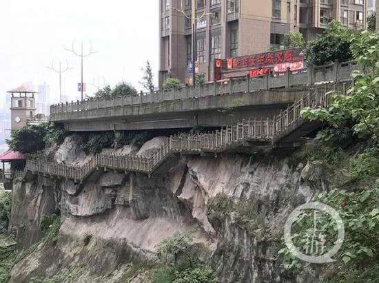"""家在重庆是什么体验?出门就是""""悬崖栈道"""""""