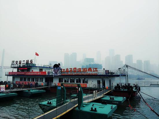 重庆网红新航线!打探朝天门至弹子石轮渡恢复开航