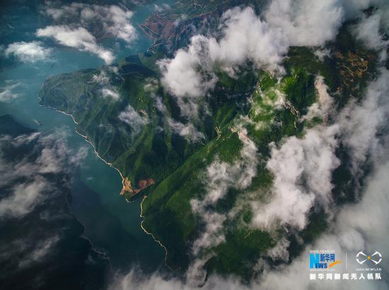 初夏三峡怎么变怎么美 切换着不一样的大好河山