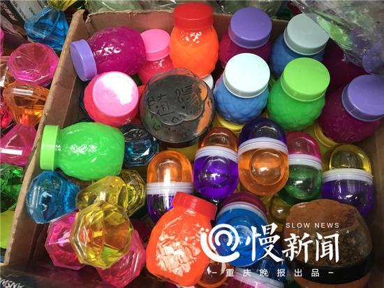 时下最流行的玩具有毒 重庆已有孩子中毒