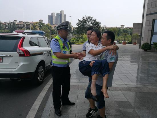 渝北区公安分局供图