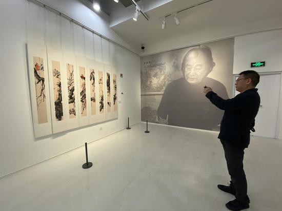 《翰墨春秋——王首麟中国画作品展》10月19日在重庆开幕