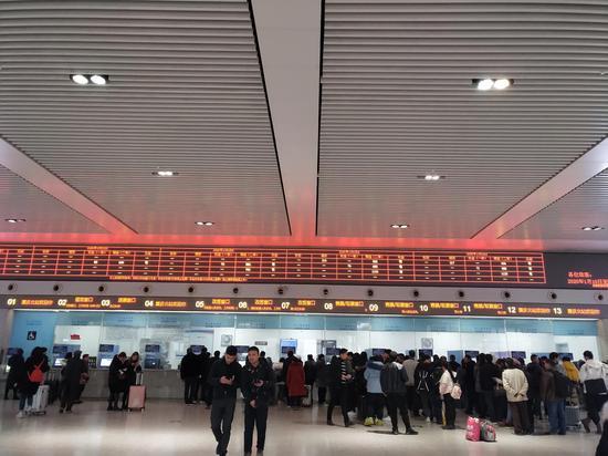 2020年春运开启 新浪重庆直击春运首日现场