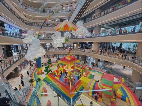 重庆光环购物公园开业盛况