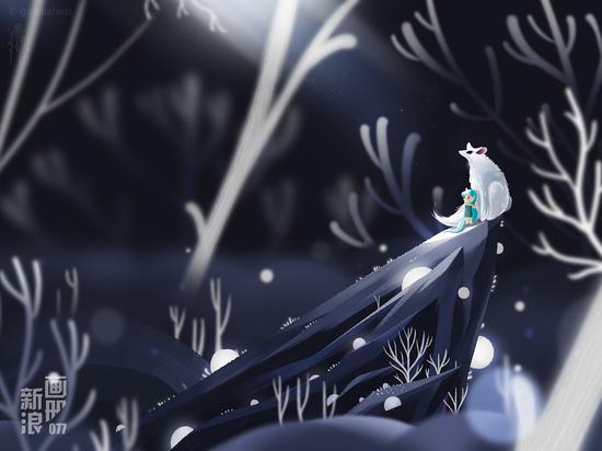 《发光的树》
