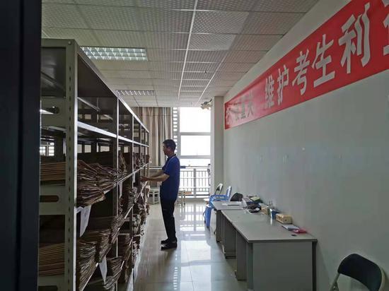 评卷现场原来长这样!打探2021年重庆高考阅卷场