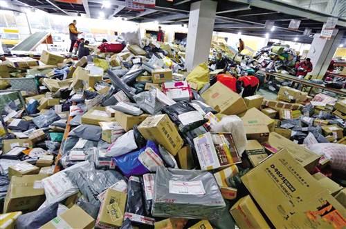 最垃圾的快递_2016双11买的东西快递多久能到 今年双11包裹共多少件 空运