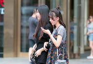 重庆最新美女街拍