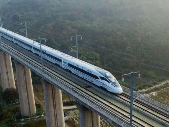 渝昆高铁确定了 以后重庆2小时飙到昆明图片