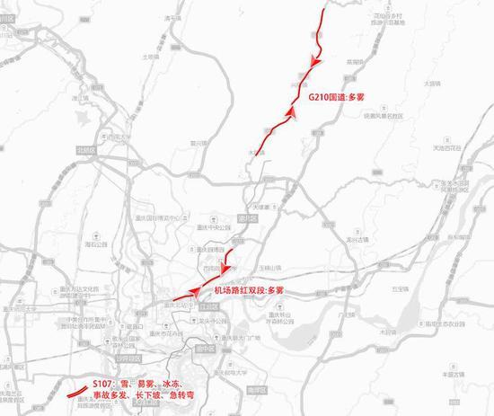 春节出行预测报告发布 哪些路段易堵可看这些图