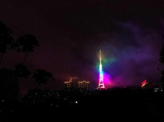 这个地方美爆了 重庆夜景666