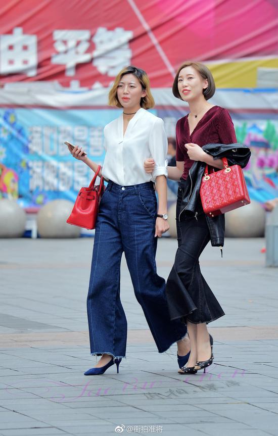 重庆跑步入夏气温冲上30℃ 街头美女穿着清凉