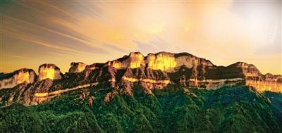 金佛山主峰