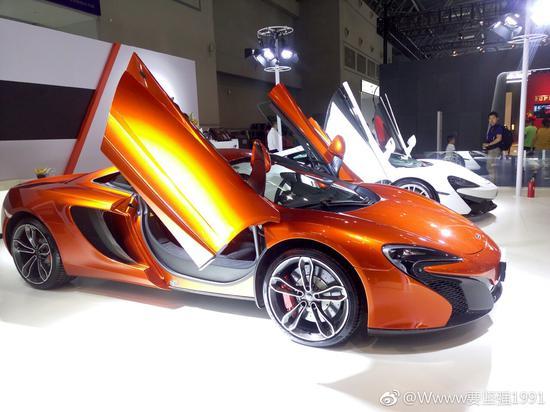 带你打望重庆国际车展上的顶级豪车