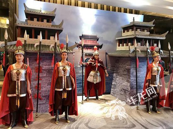 """重庆石柱""""中国土司城""""项目实景展示。"""