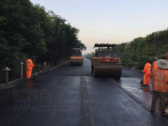 成渝高速大修 施工期间部分路段实行单道双通