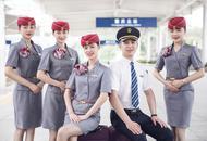 最新中国铁路制服在重庆首发