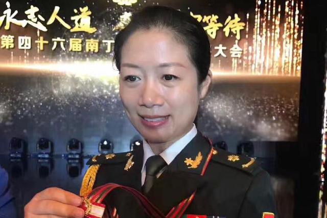 重庆又一护士获南丁格尔奖章 曾参与地震救援工作