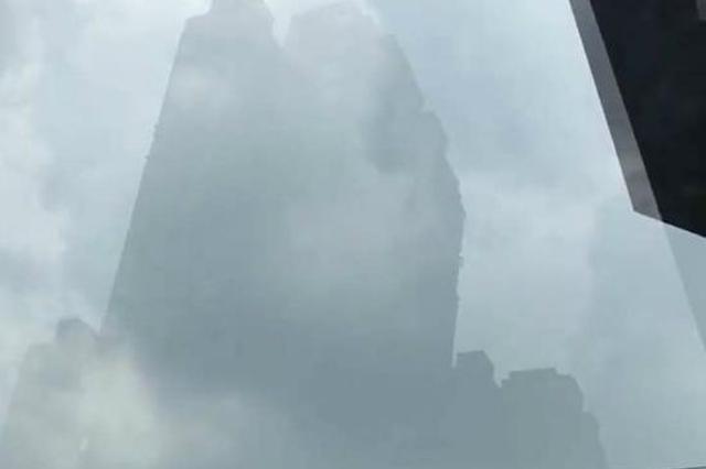 暴雨后重庆现海市蜃楼奇观  非常梦幻