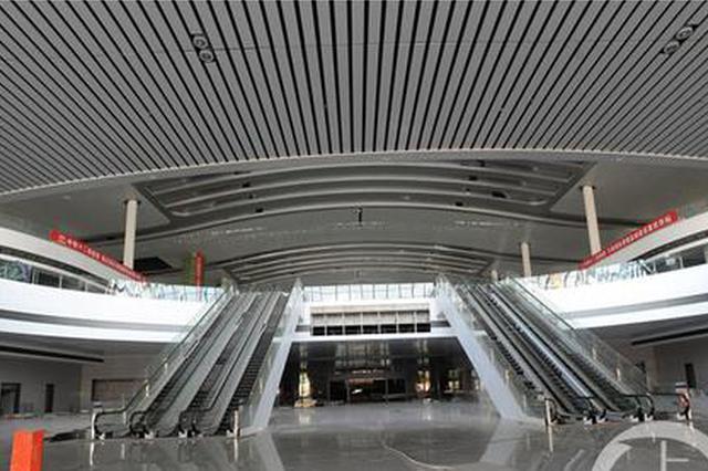 """带您打探重庆西站站房内部""""芳容"""" 先睹为快"""