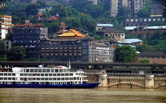 始建于唐朝的慈云寺 曾见证重庆开埠历史