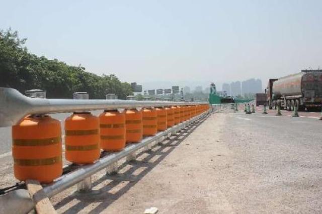 绕城高速龙兴站施工 所有货车禁止上道