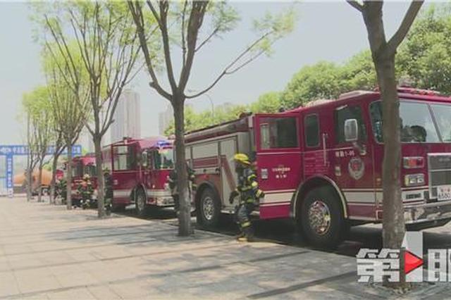 重庆新增8支高层建筑灭火救援消防队 还有无人机