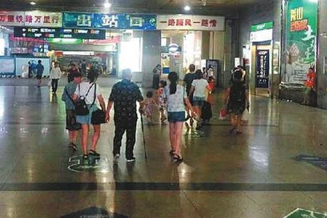 """重庆北站南北广场""""牵手"""" 步行仅需10分钟"""