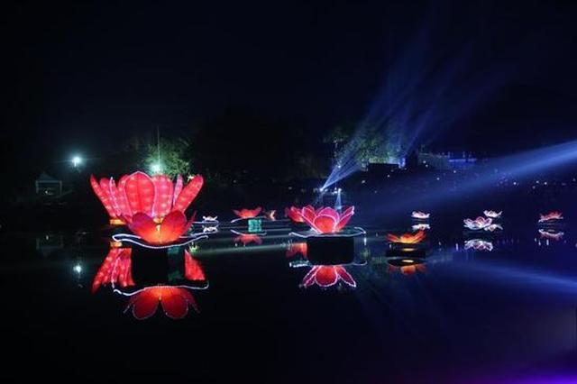 浪漫来袭 七夕到荣昌万灵古镇赏水秀放河灯