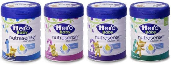 ▲Hero Baby白金版婴幼儿配方奶粉