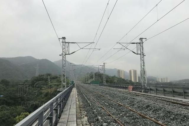 渝黔铁路新线通过静态验收 本月实施联调联试