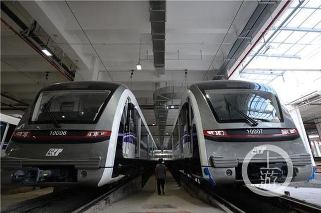 轨道十号线T3航站楼站厅装修接近尾声 预计年内建成