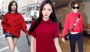 大红色在时尚圈刮起一股风超吸睛