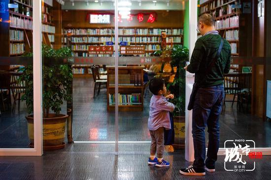 城市书房 温暖之所 为你一盏不灭的灯光