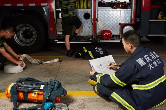 消防兵 02279