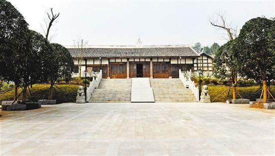 沙坪坝博物馆于近日修缮竣工,将成为川渝地区首个国有古建筑类专题博物馆