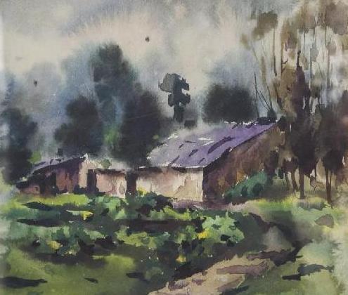 杜永樵《水彩风景》